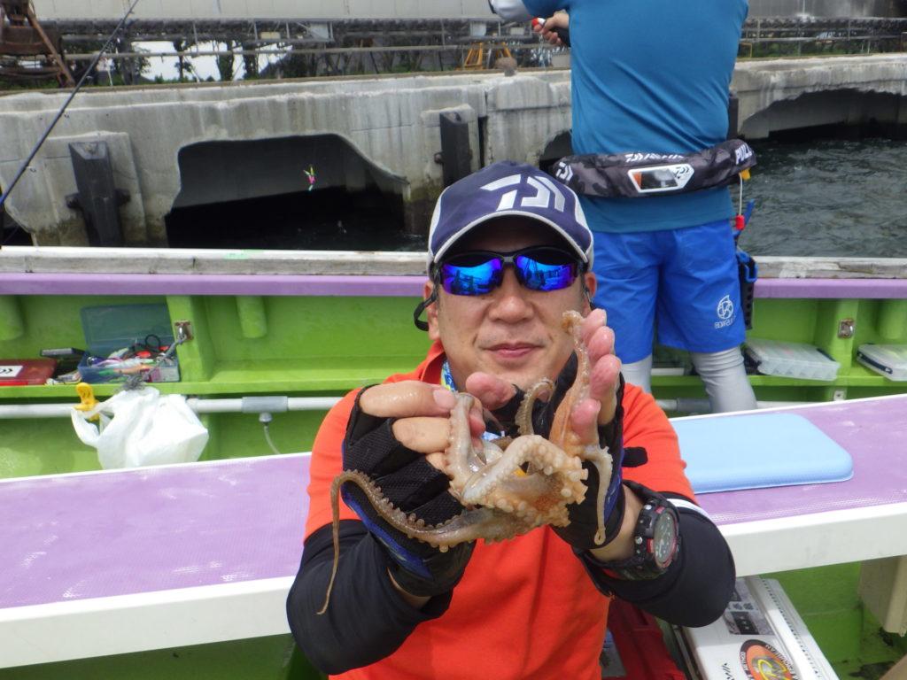 2回目 タコ釣り